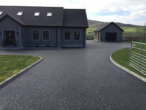Residential driveway surfacing belfast