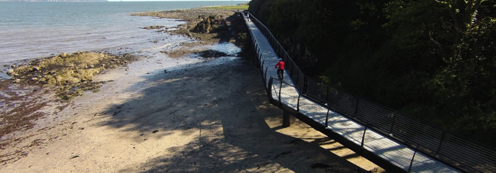 North Down Coastal Path Improvements at Seahill